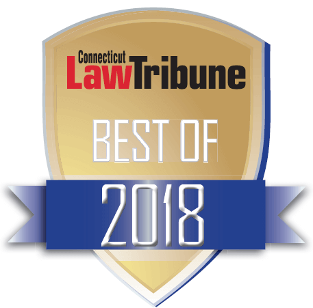 NAM (National Arbitration and Mediation) Badge Best of 2018 Connecticut Law Tribune