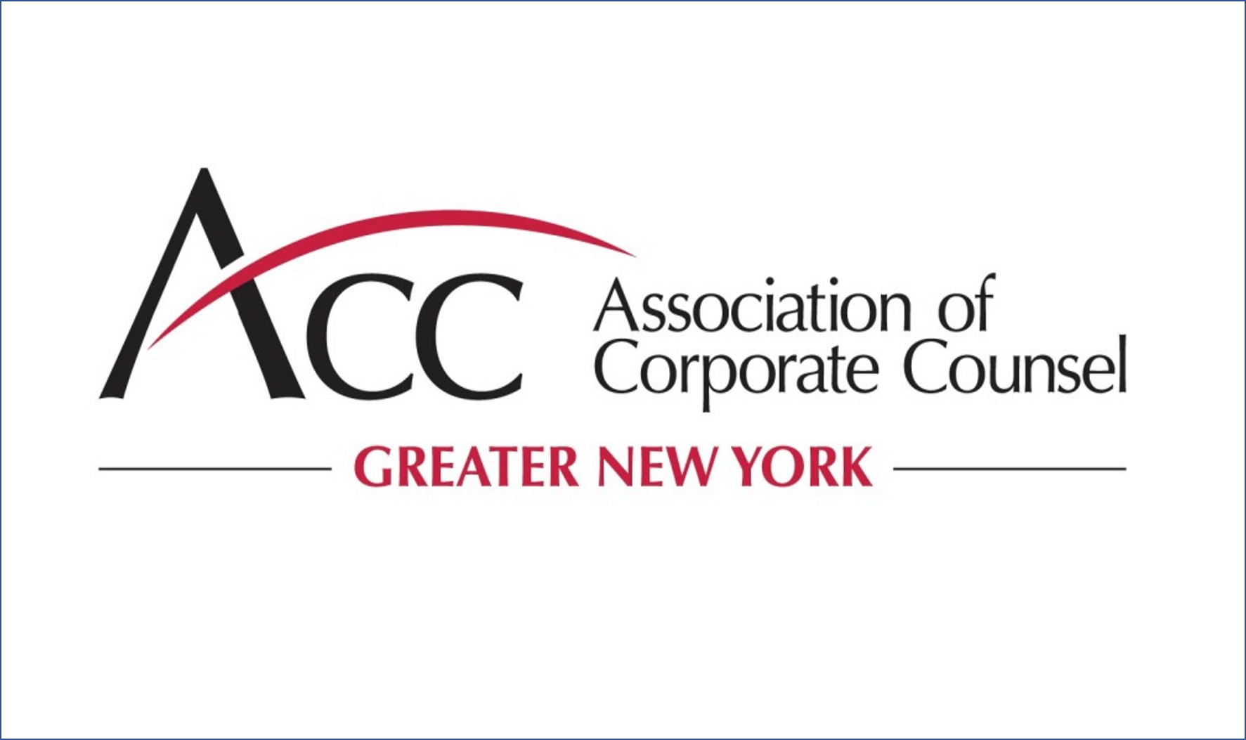 Association of Corporate Counsel Greater New York Logo