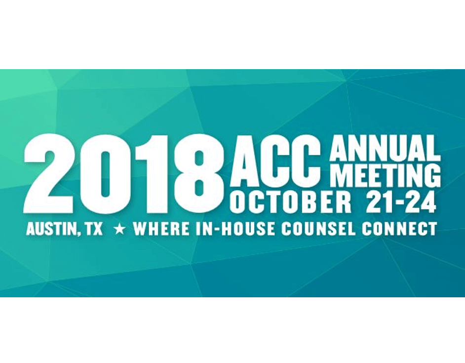2018 ACC Annual Meeting October 21-24 Graphic