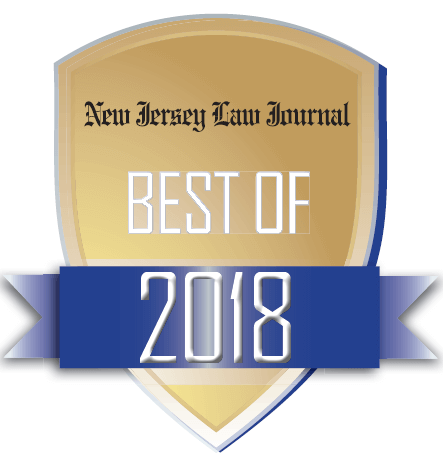 NAM (National Arbitration and Mediation) Badge Best of 2018 the New Jersey Law Journal